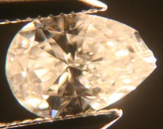 Chipped Pear Diamond