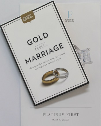 Gold and Platinum Brochures